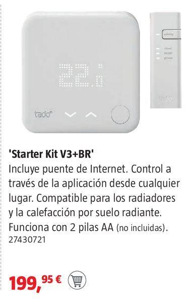 Oferta de Starter kit V3+BR por 199,95€