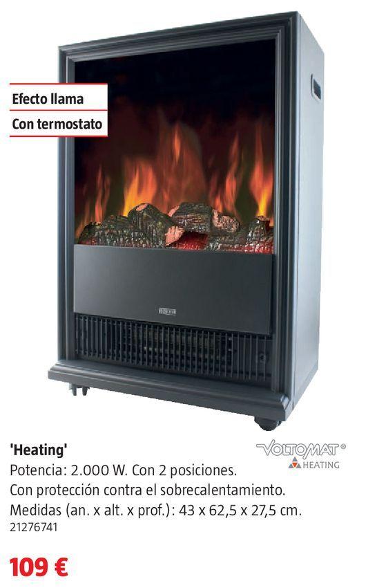 Oferta de Chimenea eléctrica por 109€