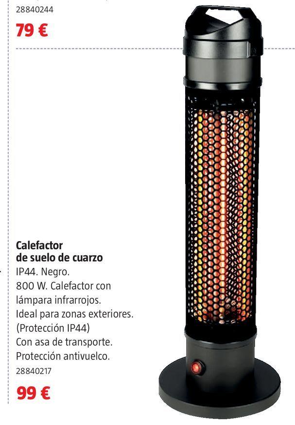 Oferta de Calefactor de suelo de cuarzo por 99€