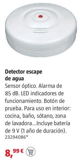Oferta de Detector escape de agua por 8,99€