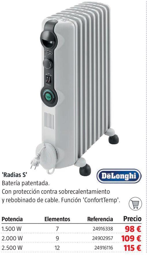 Oferta de Radiador de aceite Radias S por 98€