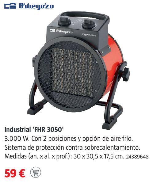 Oferta de Calefactor Orbegozo por 59€