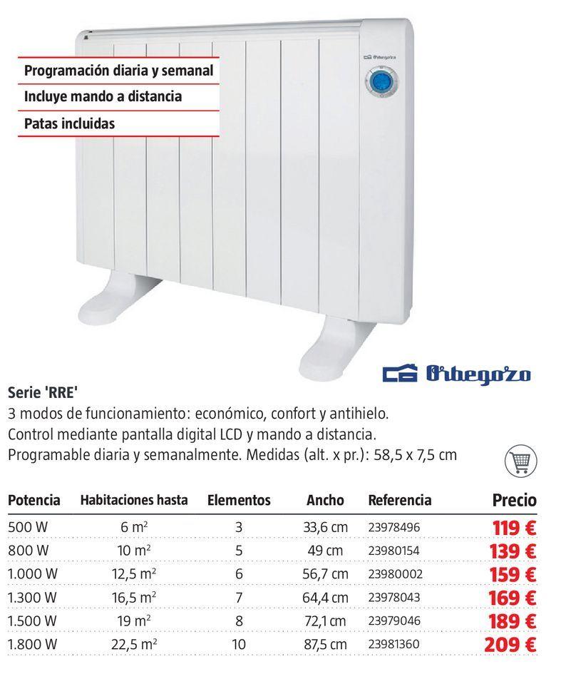 Oferta de Radiador de aceite serie RRE por 119€