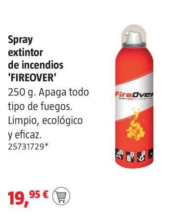 Oferta de Spray extintor de incendios por 19,95€