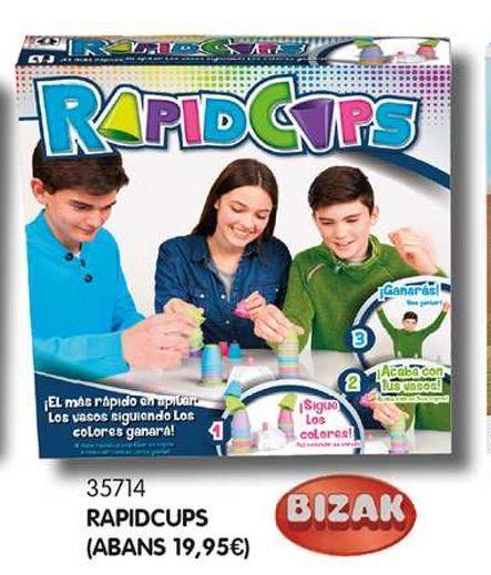 Oferta de Rapidcups por 10€