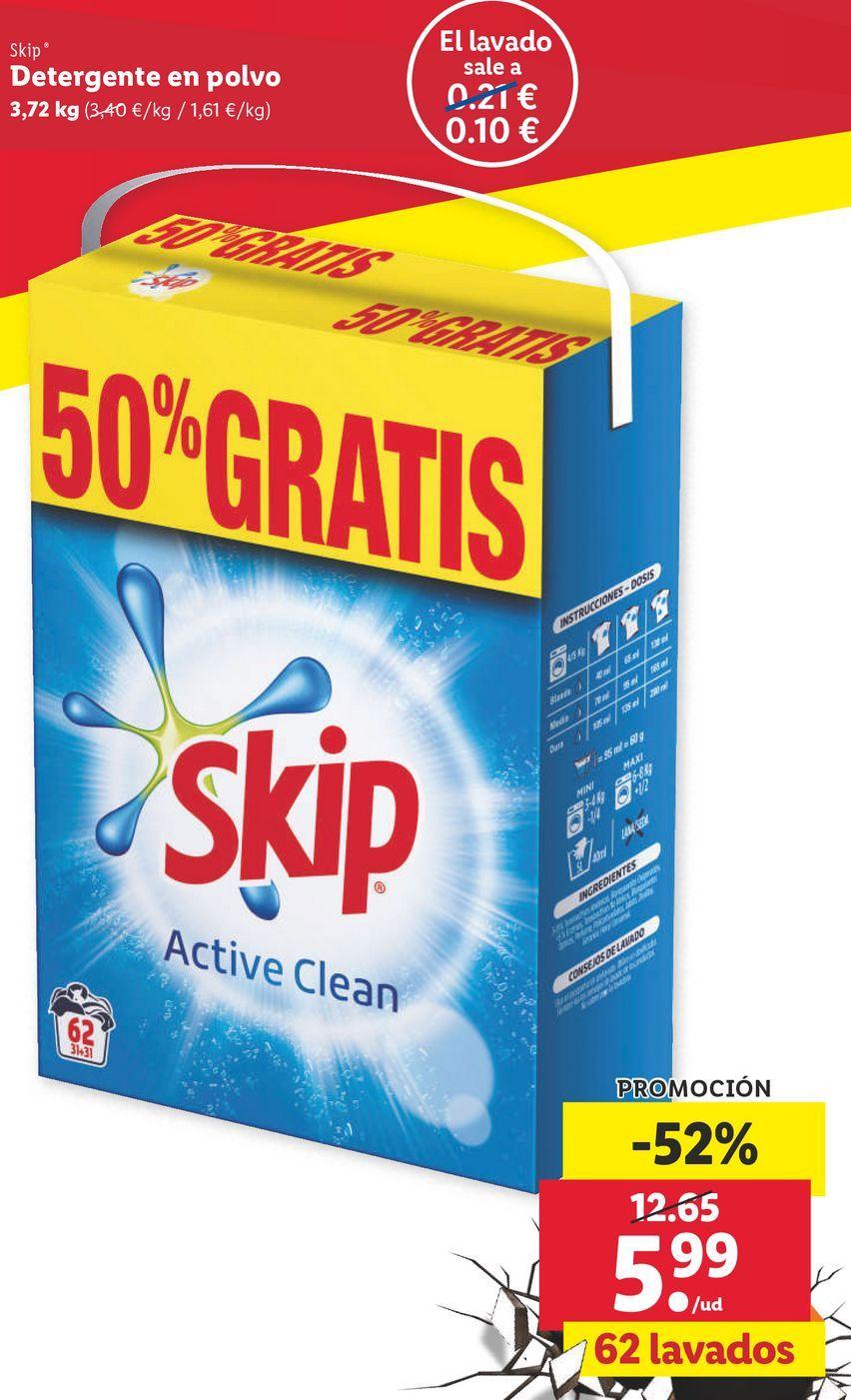 Oferta de Detergente Skip por 5,99€