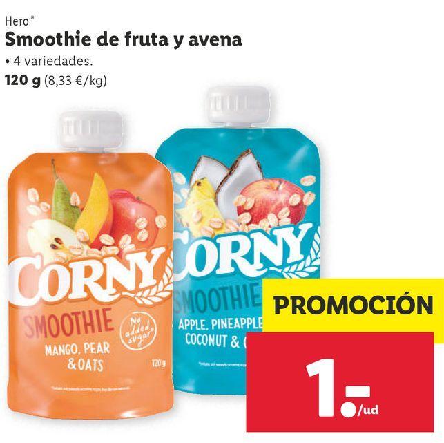 Oferta de Bebidas Hero por 1€