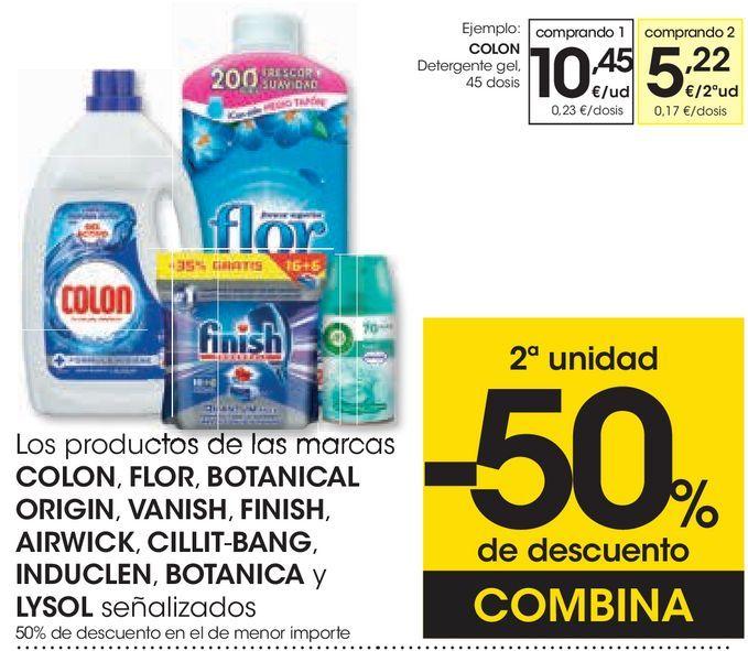 Oferta de Detergente gel  por 10,45€