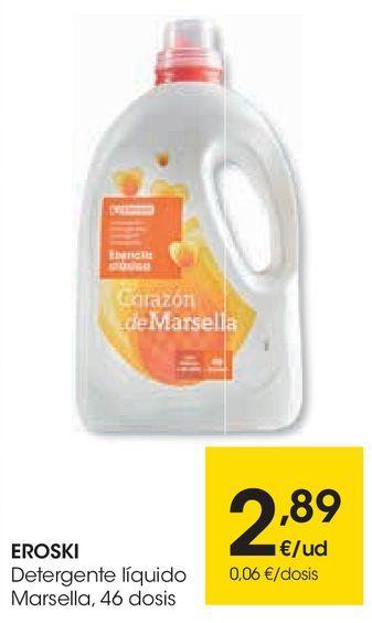 Oferta de Detergente líquido marsella por 2,89€