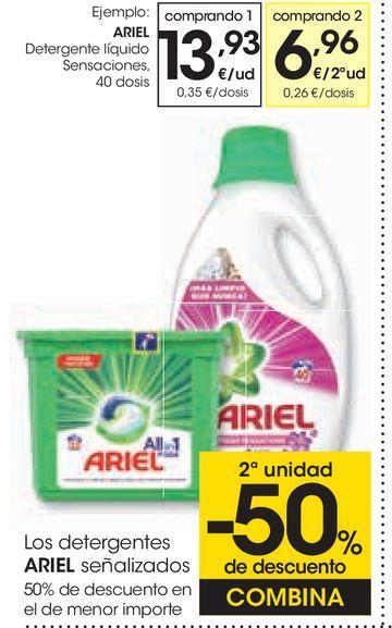 Oferta de Detergente líquido sensaciones por 13,93€