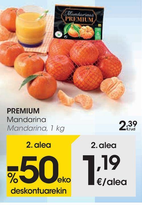 Oferta de Mandarinas Premium por 2,39€