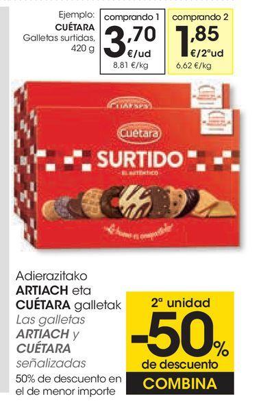 Oferta de Galletas surtidas por 3,7€