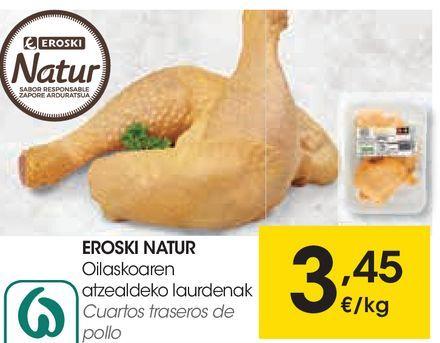 Oferta de Cuartos traseros de pollo por 3,45€
