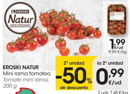 Oferta de Tomate mini rama  por 1,99€