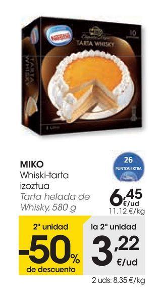 Oferta de Tarta helada de whisky por 6,45€