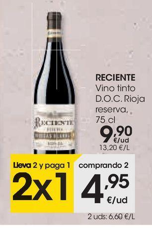 Oferta de Vino tinto  por 9,9€