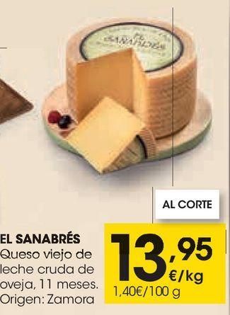 Oferta de Queso viejo de leche cruda de oveja por 13,95€