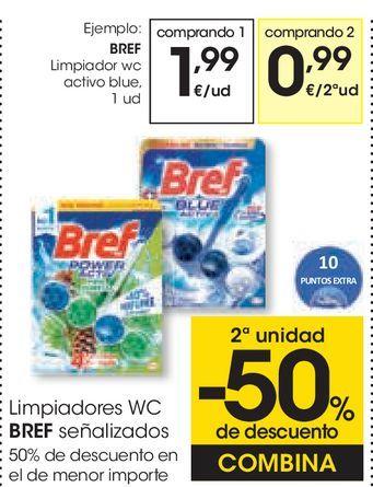 Oferta de Limpiador wc activo blue por 1,99€