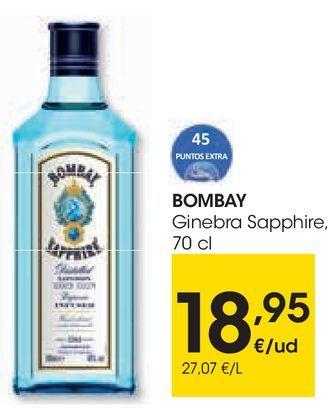 Oferta de Ginebra Sapphire Bombay por 18,95€
