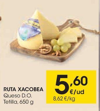 Oferta de Queso de tetilla ruta xacobea por 5,6€