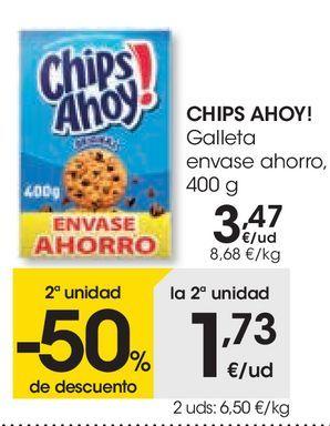 Oferta de Galleta envase ahorro Chips Ahoy por 3,47€