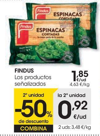 Oferta de Los productos señalizados por 1,85€