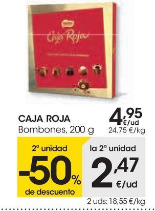 Oferta de Bombones  caja roja Nestlé por 4,95€