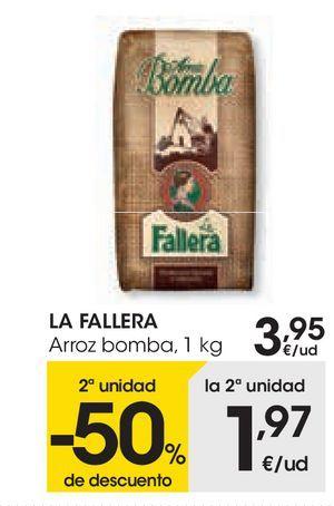 Oferta de Arroz bomba La Fallera por 3,95€