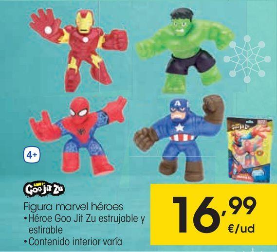 Oferta de Figura marvel héroes por 16,99€