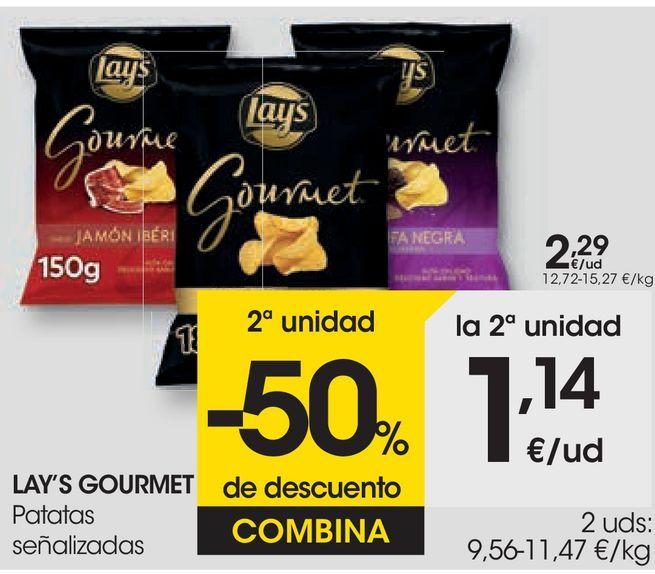 Oferta de Patatas señalizadas Lay's por 2,29€
