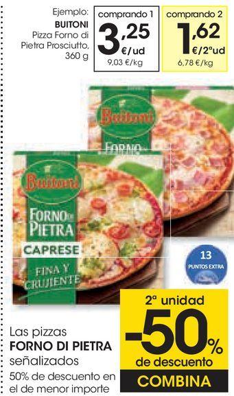 Oferta de Pizza forno di pietra por 3,25€