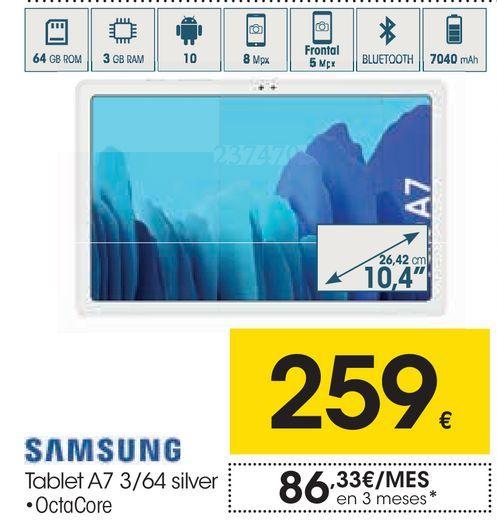 Oferta de Tablet Samsung por 259€