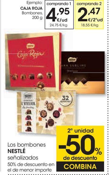 Oferta de Bombones Nestlé por 4,95€
