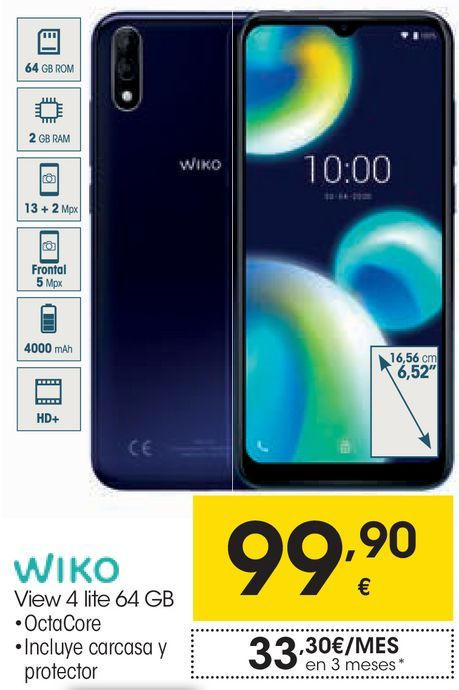 Oferta de Móviles Wiko por 99,9€