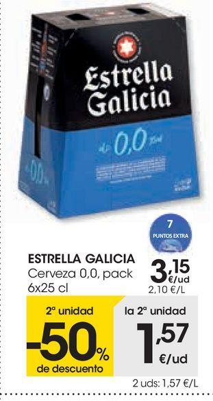 Oferta de Cerveza 0,0 por 3,15€