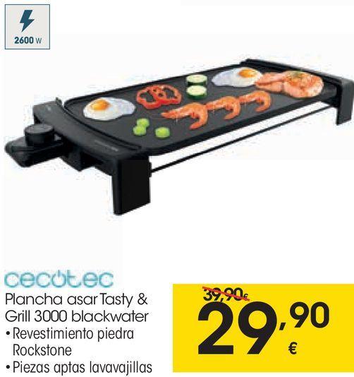 Oferta de Plancha de asar cecotec por 29,9€