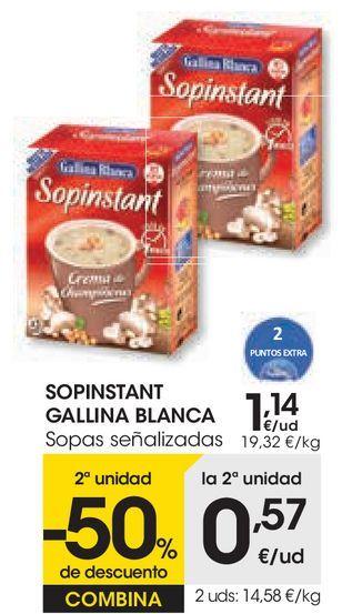Oferta de Sopa Gallina Blanca por 1,14€