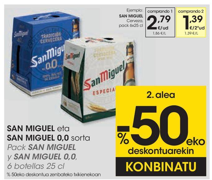 Oferta de Cerveza por 2,79€