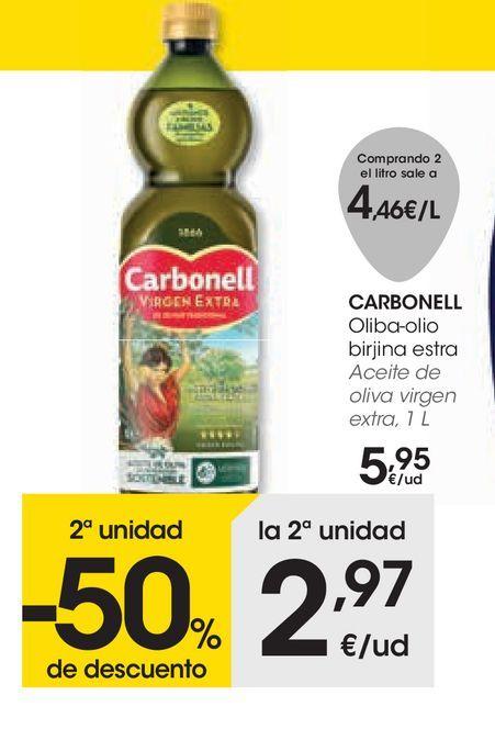 Oferta de Aceite de oliva virgen extra por 5,95€
