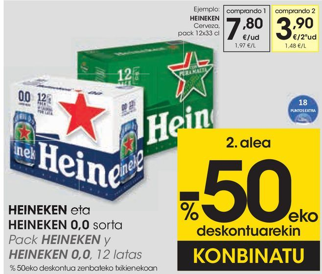 Oferta de Cerveza  por 7,8€