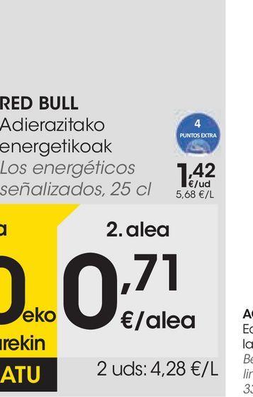 Oferta de Bebida isotónica regular o naranja por 0,71€
