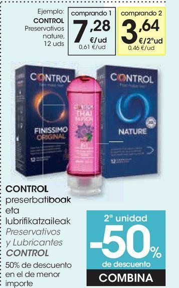 Oferta de Preservativos nature Control por 7,28€