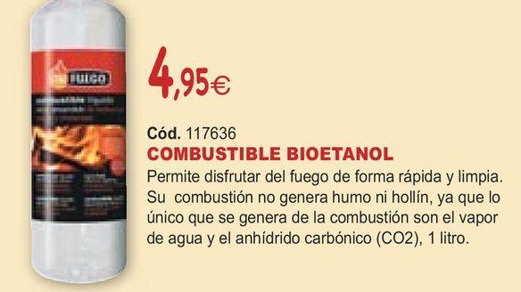Oferta de COMBUSTIBLE BIOETANOL por 4,95€