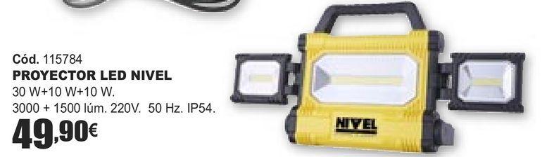 Oferta de PROYECTOR LED NIVEL  por 49,9€
