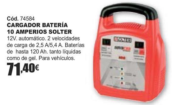 Oferta de CARGADOR BATERÍA 10 AMPERIOS SOLTER  por 71,4€