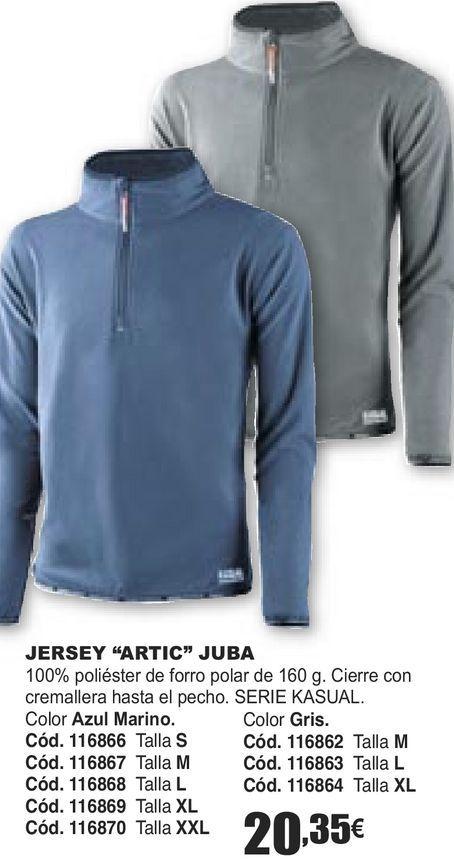 Oferta de JERSEY ''ARTIC'' JUBA  por 20,35€