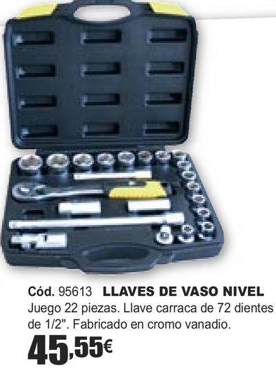Oferta de LLAVES DE VASO NIVEL  por 45,55€