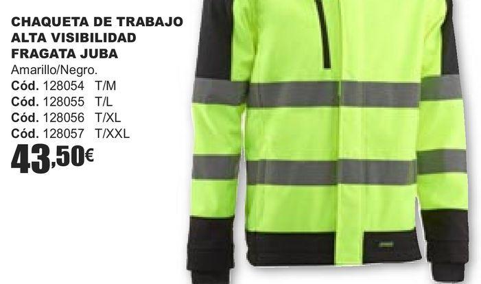 Oferta de CHAQUETA DE TRABAJO ALTA VISILIBIDAD FRAGATA JUBA  por 43,5€