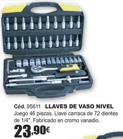 Oferta de LLAVES DE VASO NIVEL  por 23,9€
