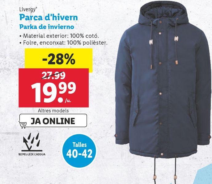 Oferta de Parka por 19,99€